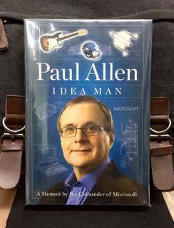 # Highly Recommended《New Book Condition + Autobiography Of Paul Allen》PAUL ALLEN - IDEA MAN : A Memoir By The Cofounder Of MICROSOFT