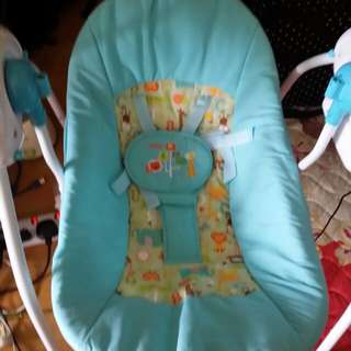 Baby swing craddle (electric)