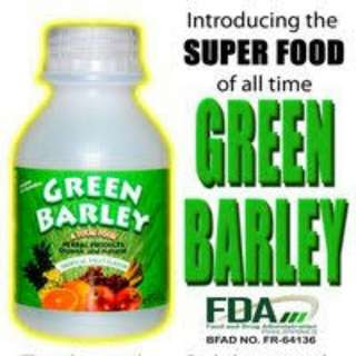 Green Barley (100% Authentic)