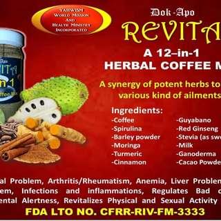 Dok Apo 12-in-1 Revita Coffee Mix