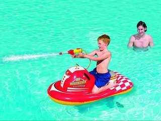 Bestway Inflatable Motor Boat with Spray Gun