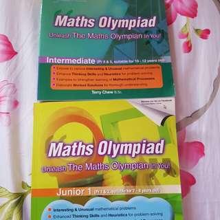 Math olympiad books