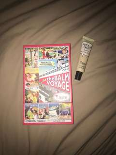 The Balm Voyage + The Balm Put a Lid on It Eyelid Primer