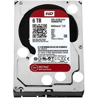 BNIB - WD RED 6TB NAS Hard Disk SATA 6Gbs 5400RPM 64MB