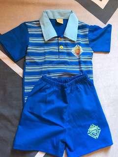 Terno polo shirt & short