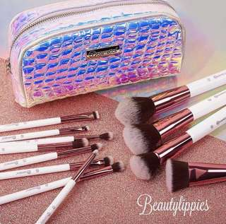 [💕BH COSMETICS PO] Crystal Quartz - 12 Piece Brush Set