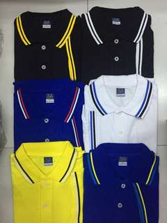 Blue Corner polo shirts