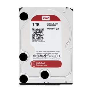 BNIB - WD Red 1TB NAS Hard Disk Drive - 5400 RPM