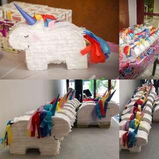 Mini Unicorn Piñata Treats Boxes/Party Favor Boxes