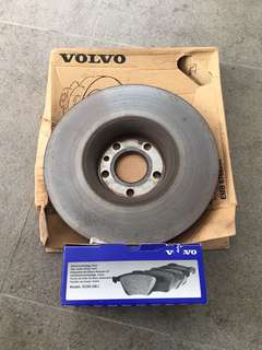 XC60 T5 rotors and brake pads
