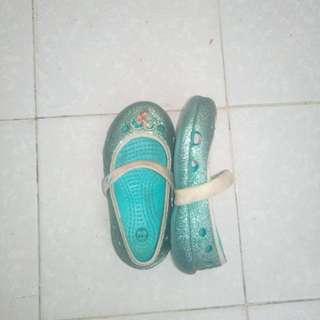 Kasut Crocs Frozen Original Size 7