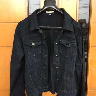 Jacket jeans black