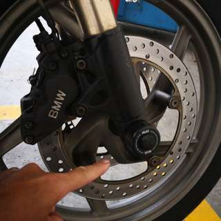 Bmw r1200gs 09 fork protector