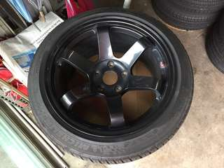 "17"" x 9J ET25 Rota IKR with PS3 tyres"