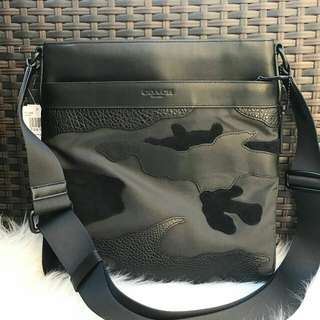 Readystock. Authentic Coach Charles Crossbody in Black