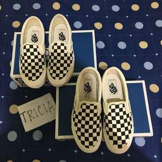 Vans vault checkerboard