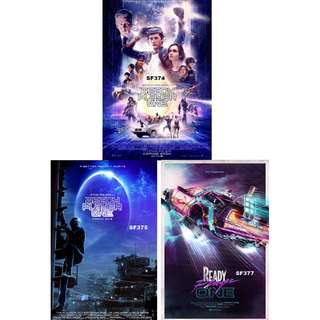 READY PLAYER ONE MOVIE POSTERS (PART 1)