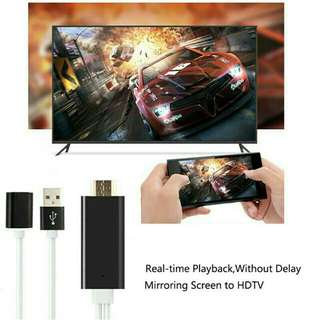 HDMI TV Cables for IPhone, iPad ,Android &TypeC usb.