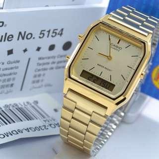 Casio AQ 230GA-9D gold Original