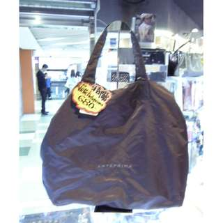 Anterprima Gray Nylon Shoulder Hand Bag 灰色 尼龍 手挽袋 手袋 肩袋 袋