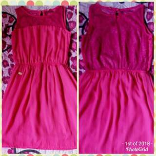 Candie's Hot Pink Dress