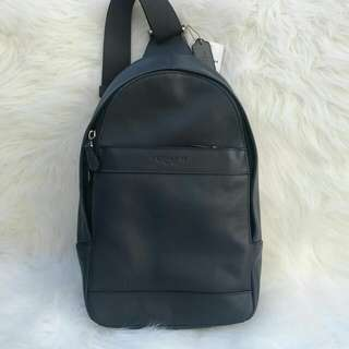 Readystock. Authentic Coach Charles Pack in Midnight