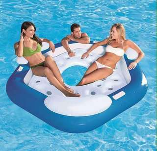 Bestway Water Floating Bed Lifebuoy Boat