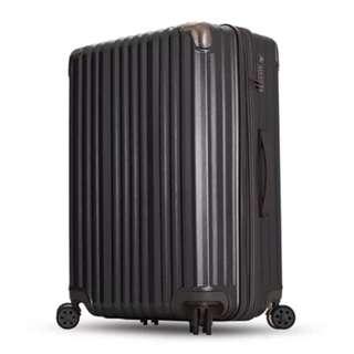 JIA 拉絲霧面28吋行李箱 霧灰 PC+ABS材質