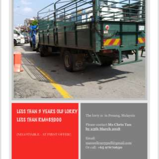 RELOCATION LORRY SALE
