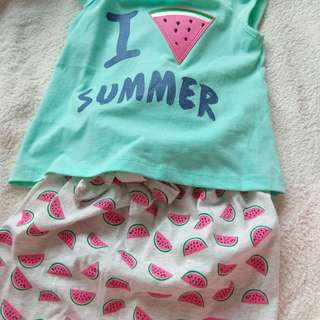 Baby Girl 2pc Clothes
