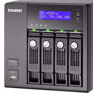 QNAP TS-459 Pro 4-bay NAS [not Synology] (連 4x2TB HDD)