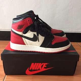 """Air Jordan 1 High Og Retro """"Bred Toe"""""""