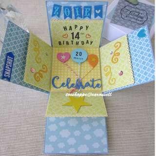 Celebrate Birthday Gift Box Album