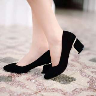 Black Pumps By Buckle Up  35-40