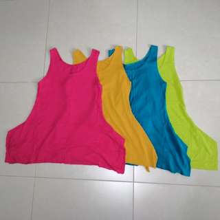 (A3) Casual Singlets All 4 for $6