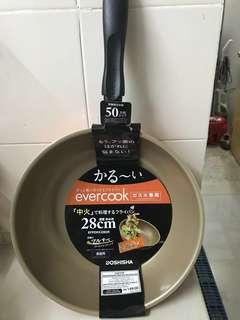 New Everbest Frying Pan 28cm  -Orange Colour