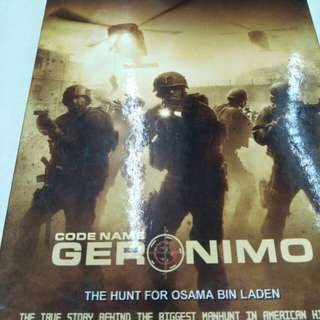 Code Name Geronimo The Hunt For Osama Bin Laden movie DVD