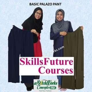 Basic Palaza Pant Workshop