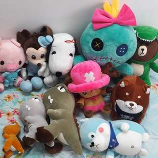 Good quality plush toy 10cm - 70cm++