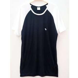Abercrombie & Fitch Tshirt Black White