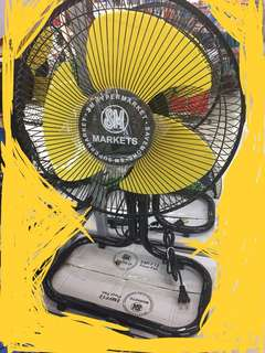 SM brand Floor Fan 12 inches