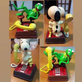 BNIB 70/80s Vintage Collectible Walt Disney Characters Phone