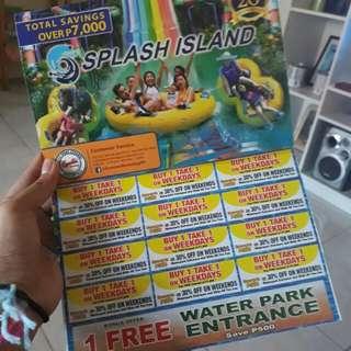 SPLASH 12 tickets buy 1 take 1