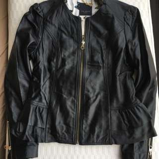 Ted Baker  Ladies Leather Jacket  @Size 1