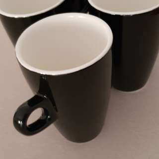 black coffee mugs set of 6