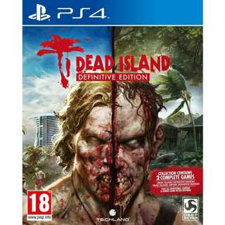 Dead Island Definitive Edition (R3) Pre-Owned (Playstation 4)