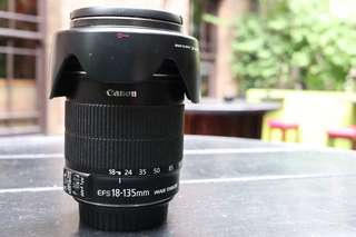 Canon 550D with 18-135 & 50