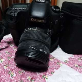 WTS CANON EOS 7D WITH SIGMA LENS 17-70MM F2.8
