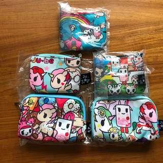 Jujube Small Set / coin purse destash