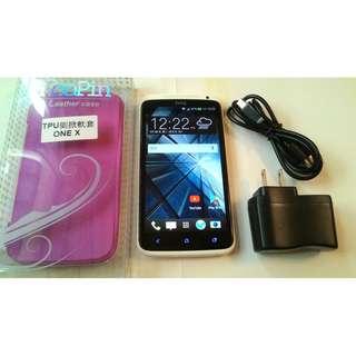 <二手良品螢幕無刮傷>HTC One X S720e 極速機 32G 4.7吋 四核心 功能正常可玩傳說對決只要1400